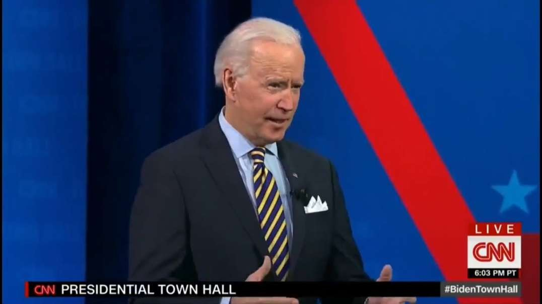 Joe Biden Tells Americans During CNN Town Hall That There Was No COVID Vaccine Before He Took Office
