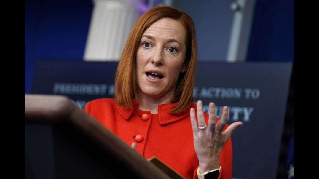 White House Will Now Screen Questions Ahead Of Time For Jen Psaki's Press Briefings