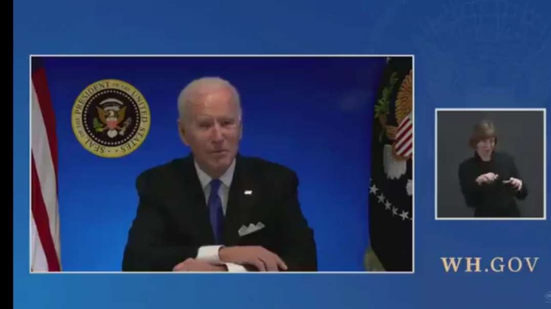 White House Cuts Joe Biden Video Feed As He Offered To Take Questions