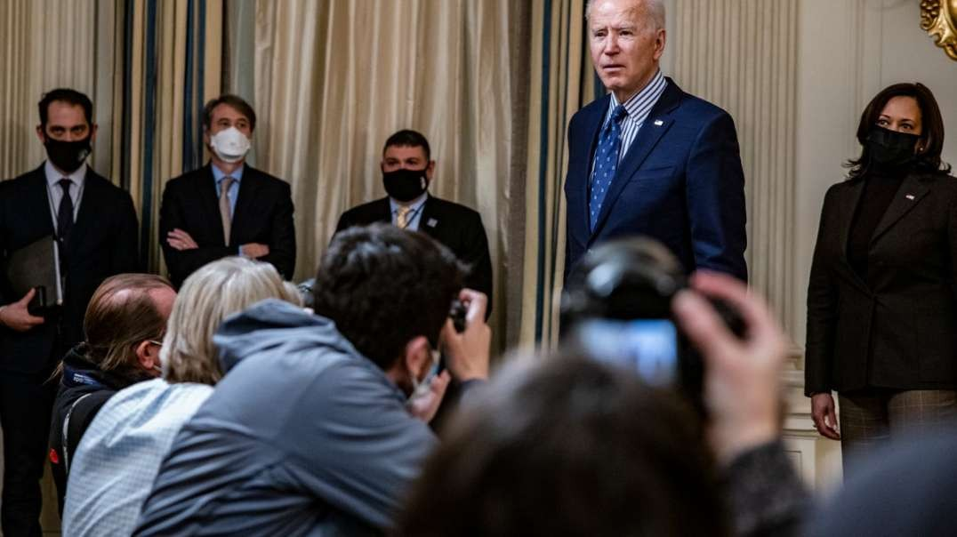 """Who's REALLY in charge? Biden Tells Press He's """"Not Supposed To Be Answering All These Questions"""""""