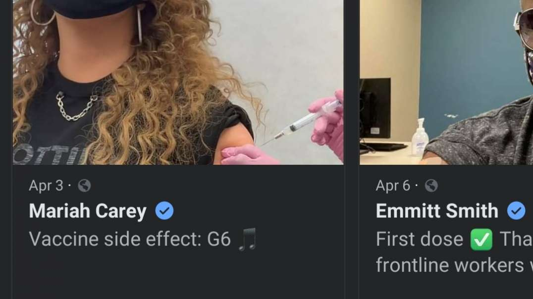 Facebook Feature Highlights High-Profile Vaxxers Such As Mariah Carey To Influence Vaccine Hesitancy
