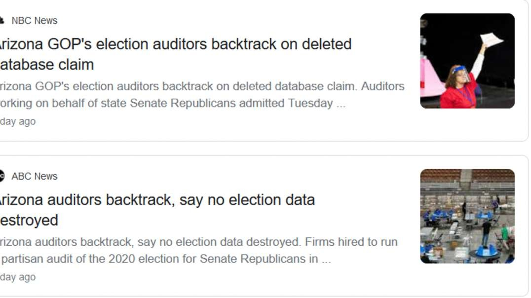 Mainstream Media Falsely Reports Arizona Auditing Firm CyFIR Backtracked On Deleted Database Claims