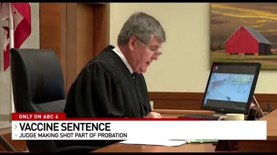 Ohio Judge Using COVID-19 Vaccination As Bargaining Chip For Lighter Sentences On Defendants