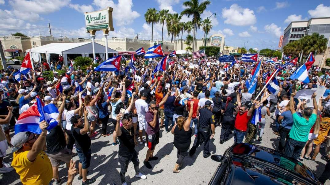 """New York Times Labels Freedom An """"Anti-Government Slogan"""" In Story On Cuban Protests"""