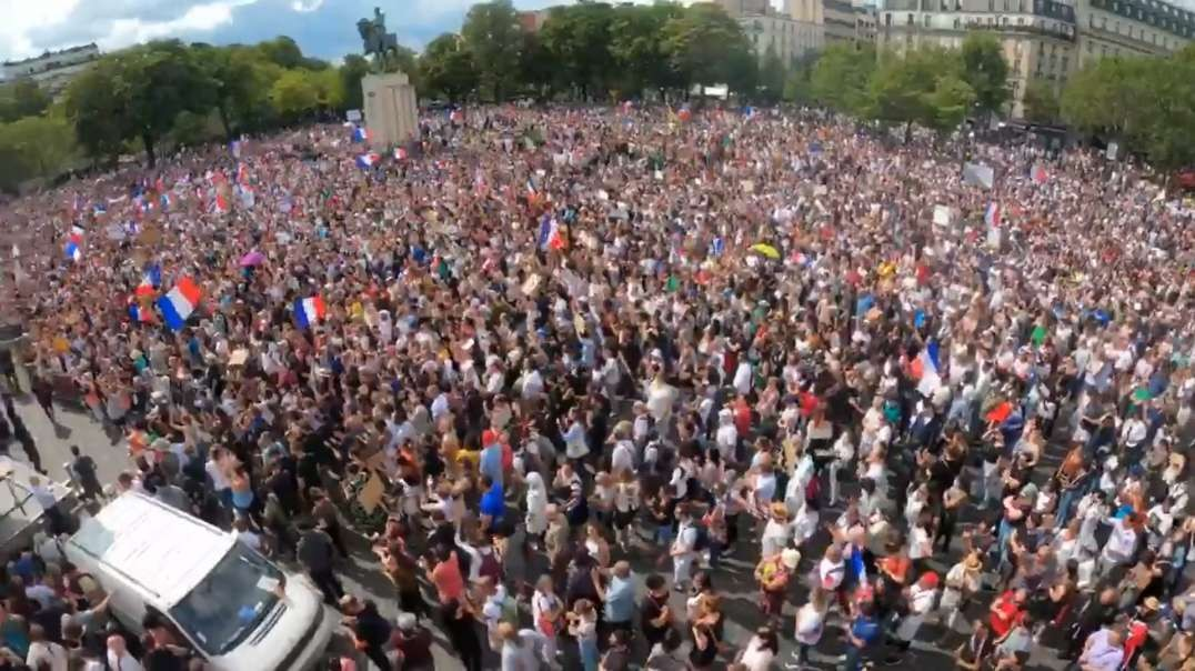 Protests For Freedom Erupt World-Wide Against COVID Mandates, Communist-Style Governments