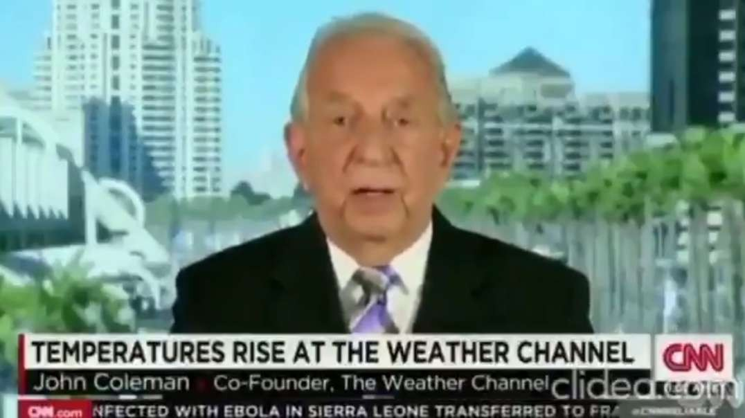 """Weather Channel Founder, Scientist On CNN: Global Warming Not Happening, Exposes Deceptive """"Science"""""""