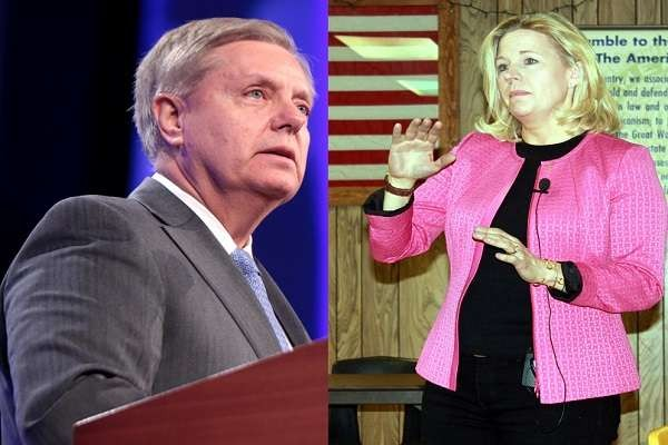 Corrupt South Carolina Senator Lindsey Graham has been censured by the Aiken County Republican Party for moving too far to the left, saying he is playing both sides of the aisle to his advan..