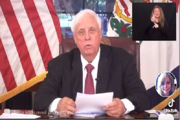 West Virginia Governor Jim Justice reports a 26% increase in new positive COVID-19 cases in fully vaccinated individuals over the last 8 weeks, a 21% increase in breakthrough cases requiring..