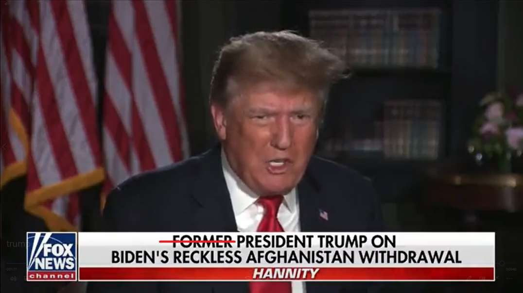 China Eyes Taiwan Invasion Amid US Afghanistan Fumble, Trump Lays It Out On Hannity