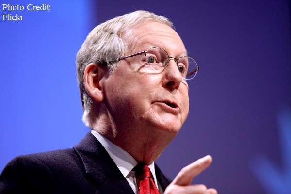 """RHINO Mitch McConnell says there isn't going to be any impeachment and that Joe Biden will not be removed from office, citing Democratic majority. Mconnell stated """"Well, look, the .."""