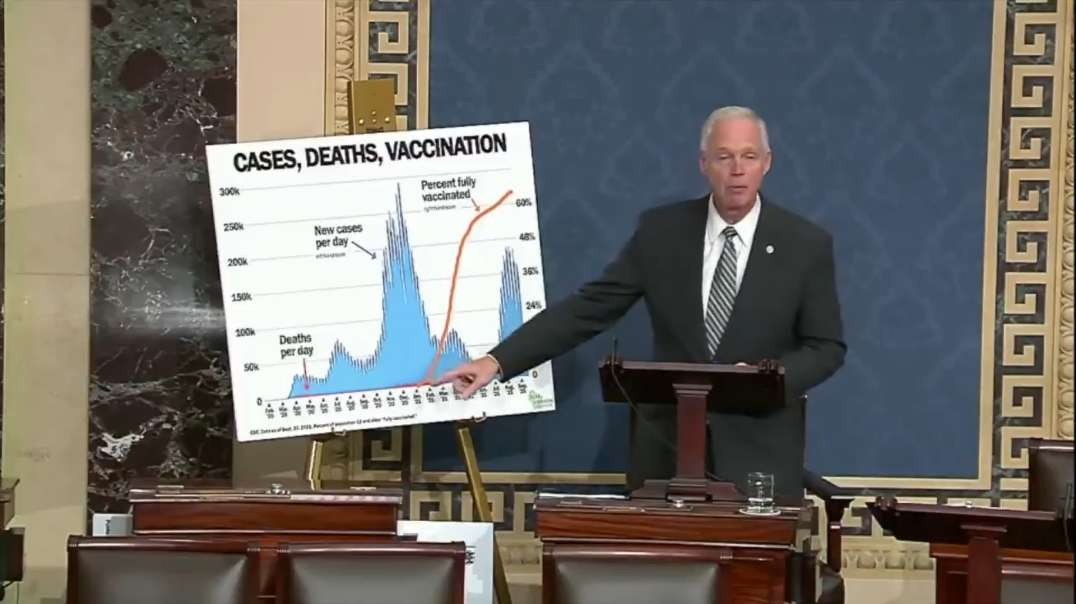 Sen Johnson Lays Out CDC COVID Data, Massive Vaccine Mandate Fine Increase Hidden In Spending Bill