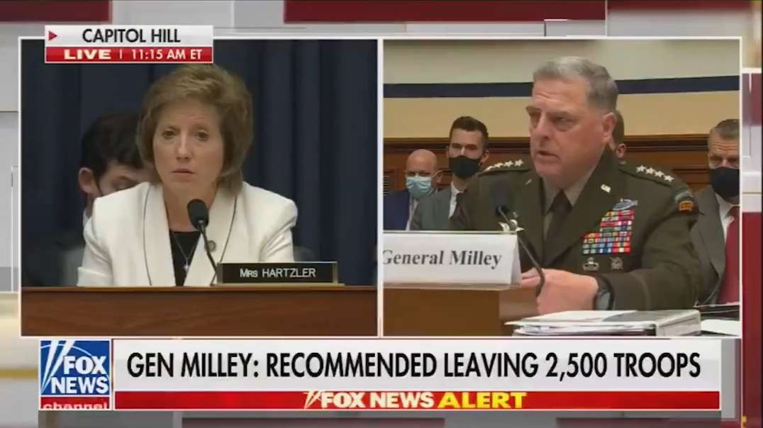 Woke General Mark Milley Has Admitted To Telling Chinese General He Would Call If US Were to Attack