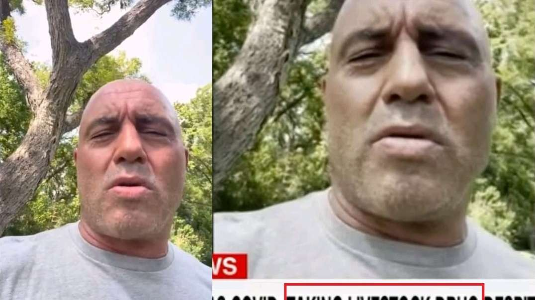 CNN Manipulates Photo Of Joe Rogan To Make Him Look Like Death To Push False Narrative On Ivermectin